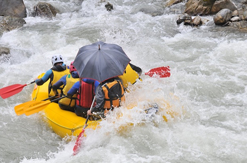 Rafting Sallanches