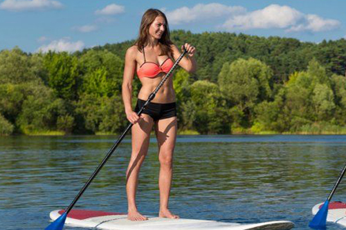 Stand up paddle lac de passy